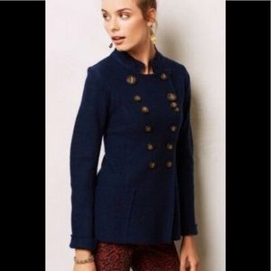 Anthropologie Gro Abrahamsson Windfall Wool Jacket